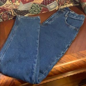 Eddie Bauer Flannel Lined Women's Jeans
